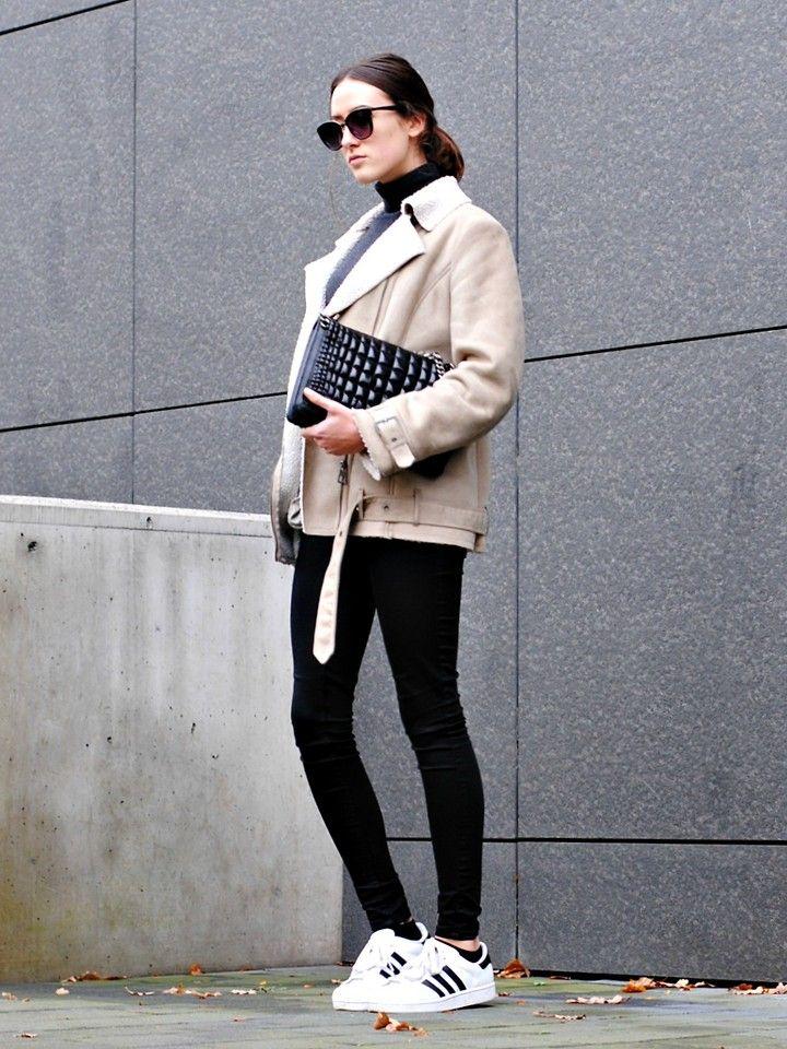 tendenze: come indossare scarpe adidas superstar lena penteado la