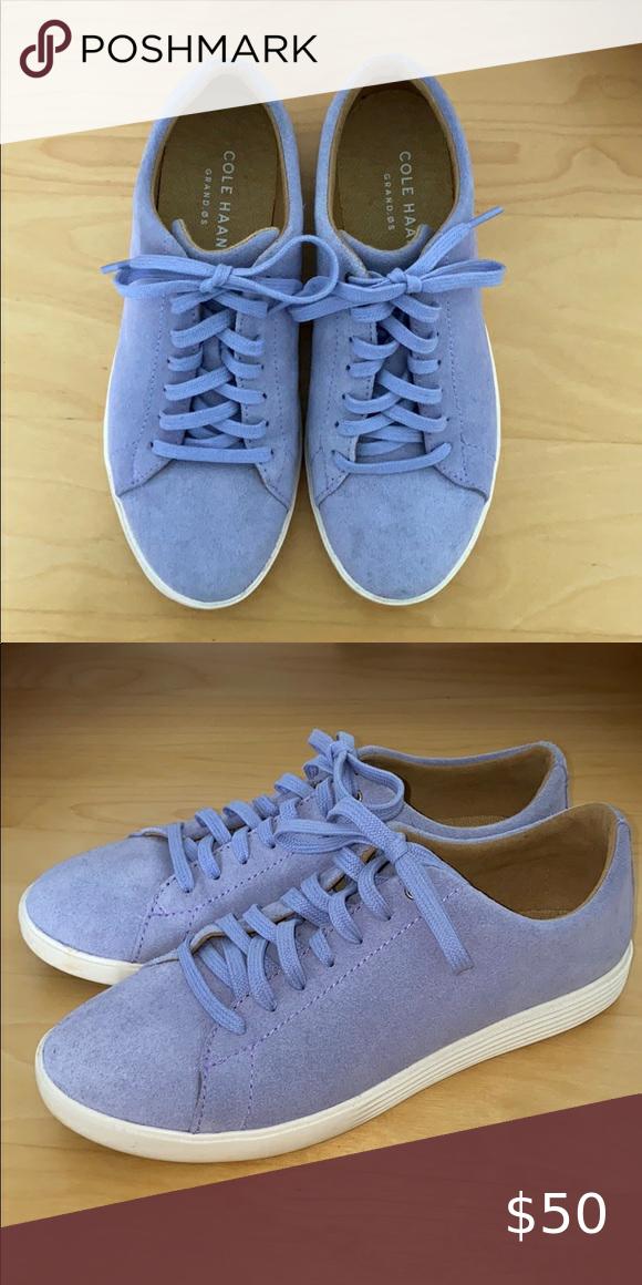 Cole Haan Lavendar Sneakers