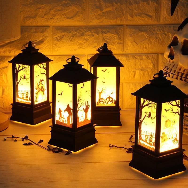Ghost Hand Castle LED Lights Inflammable Oil lamp in 2018