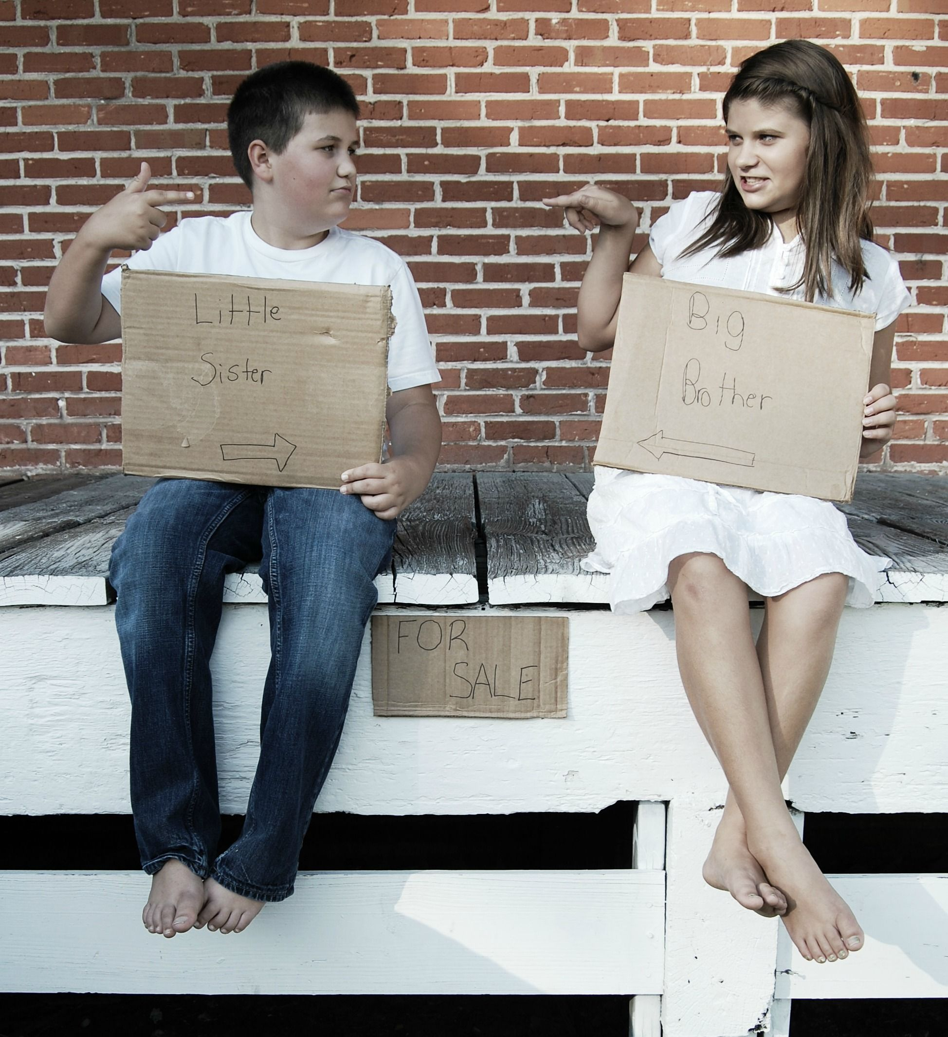 Picture Ideas Brothers: FOR SALE: BROTHER & SISTER PICTURE IDEA..I LOVED THIS ONE
