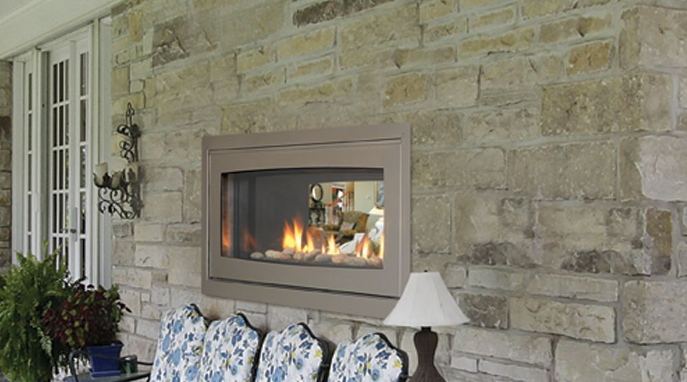 Serenade See Thru Direct Vent Fireplace 42 Outdoor Conversion Kit 27 500