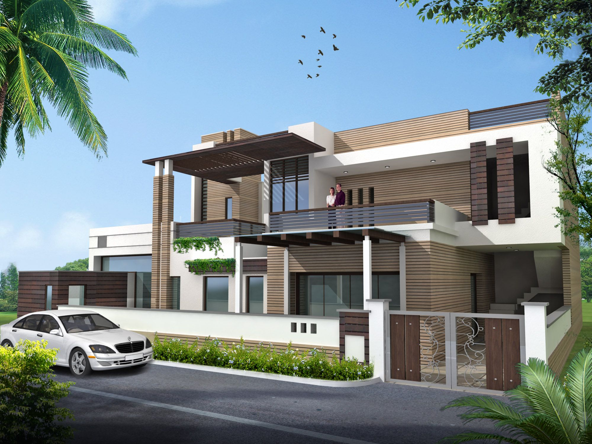 Ultimate House Designs With House Plans: Featuring Indi By Vidhi Shankar,  Via Behance