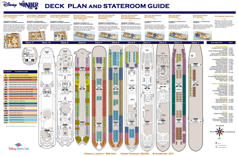 Disney Wonder Layout Disney Magic Cruise Disney Magic Cruise Ship Carnival Sunshine Deck Plans