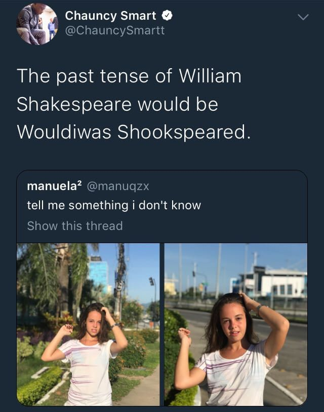 Wouldiwas Shookspeared - Savage