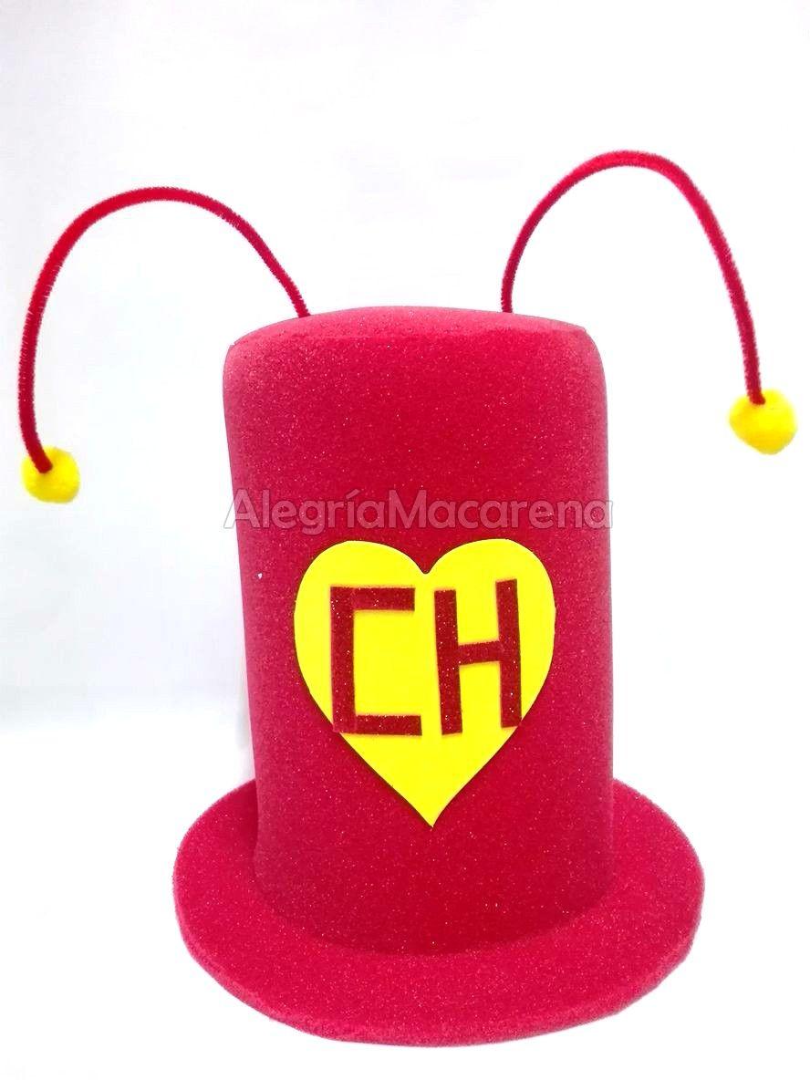 Sombrero chapulín colorado  8535571eebd