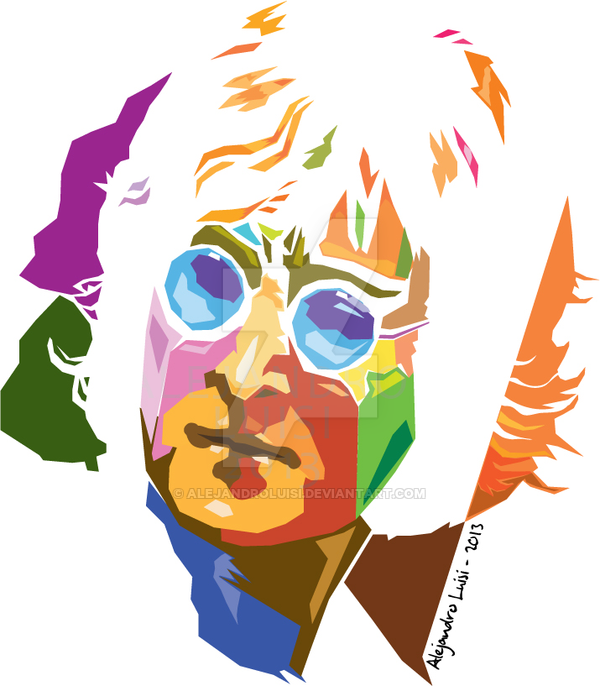 John Lennon Vector Pop Art Poster De Cine Beatles Arte
