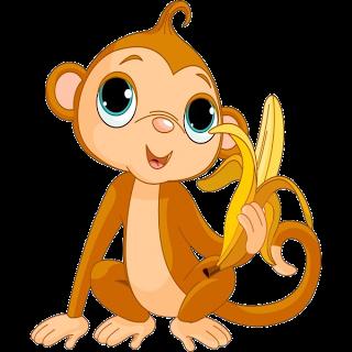 Monkeys cartoon clip art clip art work pinterest - Clipart bricolage ...