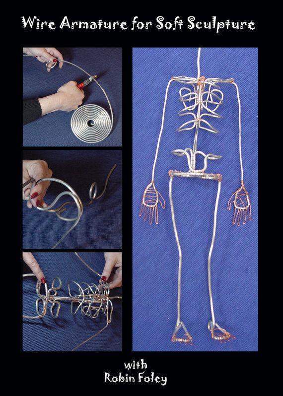 Wire Armature For Soft Sculpture Armature Sculpture Soft