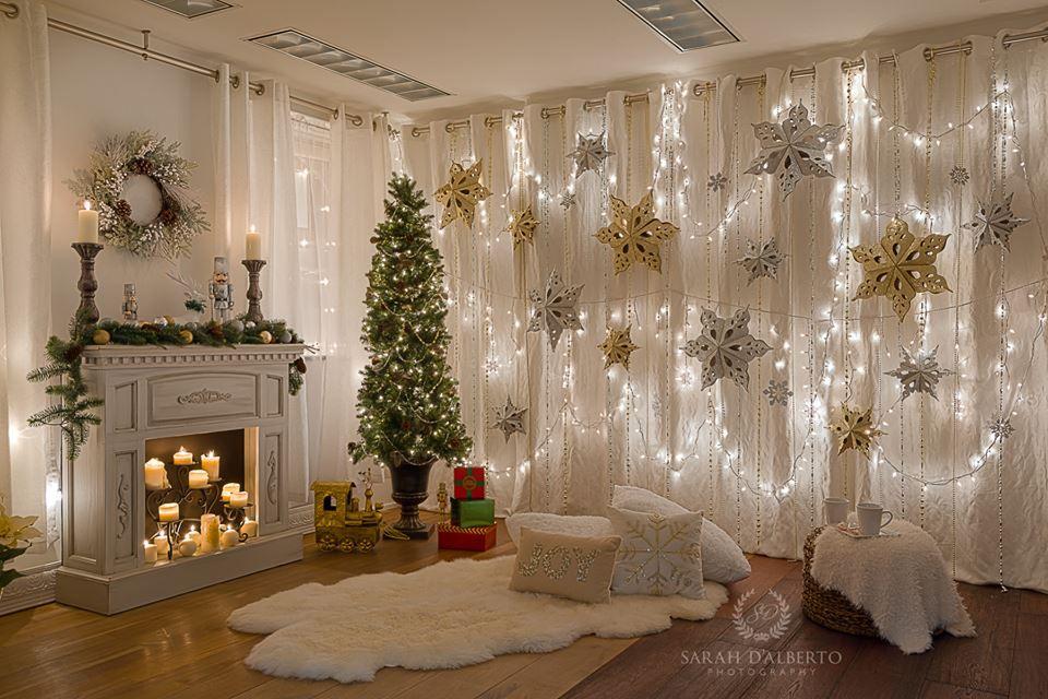 Christmas Setups.Christmas Setup Santa Pictures Christmas Backdrops