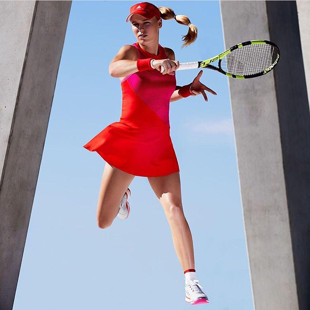 "2,249 gilla-markeringar, 20 kommentarer - Caroline Wozniacki (@carowozniacki) på Instagram: ""US Open 2017 @adidas @stellamccartney"""