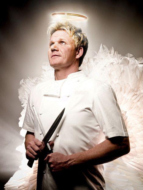 Gordon Ramsay Is A Angel Cocineros Recetas Comida