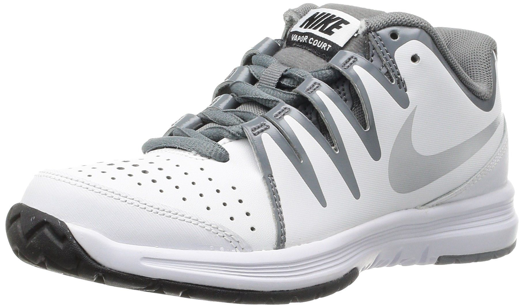 Nike Womens Wmns Vapor Court White Metallic Silver Cool Grey 12 M Us Model Number 631713100 Gend Nike Shoes Women Womens Athletic Shoes Nike Tennis Shoes