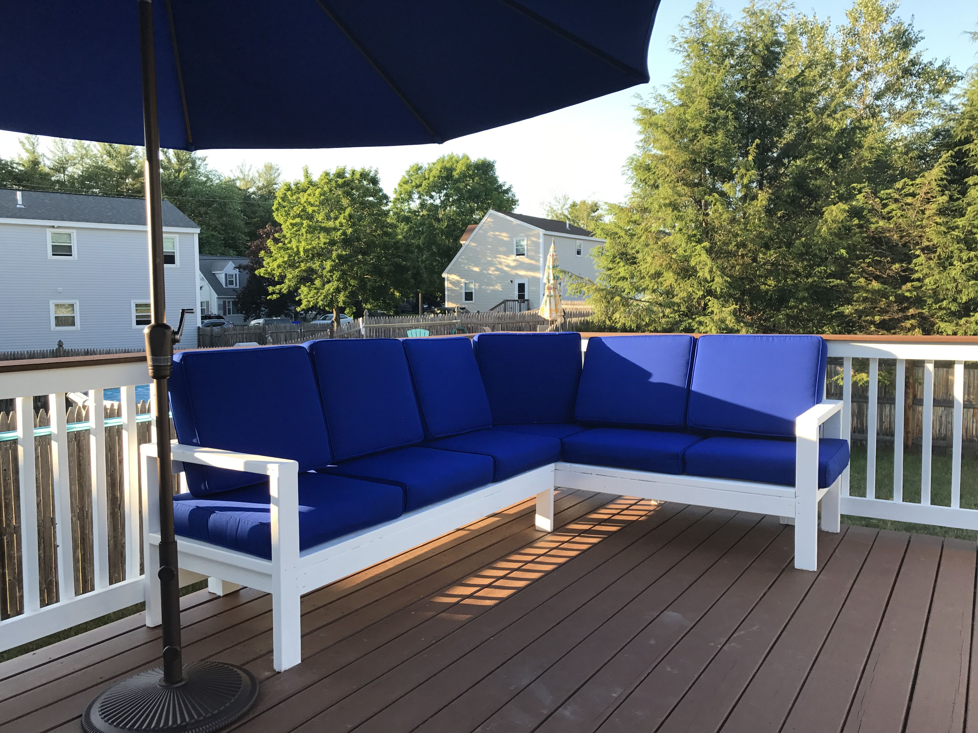 Ana White Outdoor Sectional Diy Projects Pallet 400 x 300