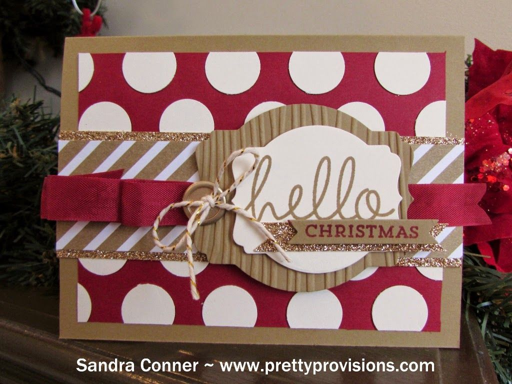 Pretty Provisions: Hello Christmas