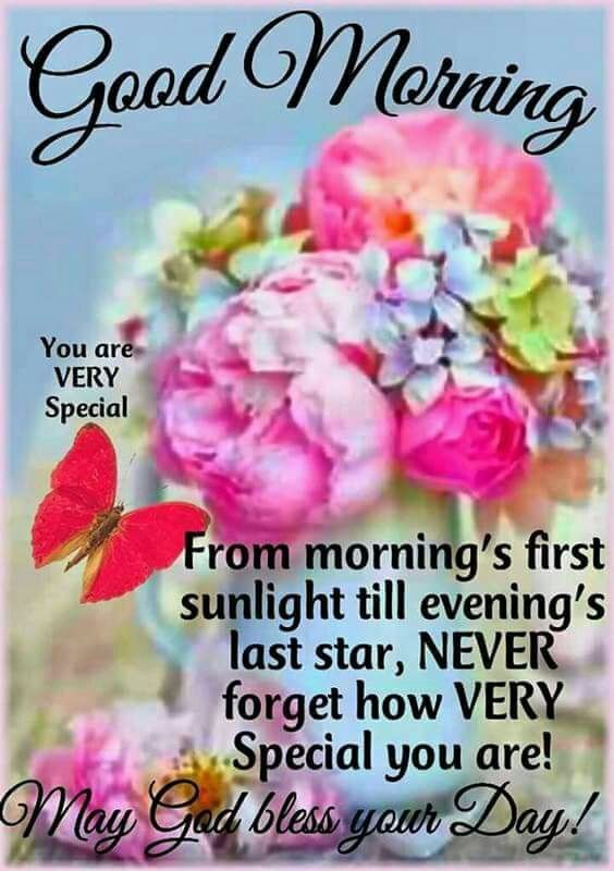 You Are Special Days And Nights Pinterest Morning Quotes