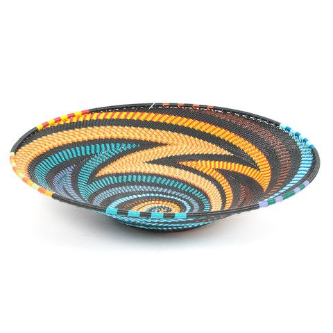 Medium Telephone Wire Platter- Rainbow