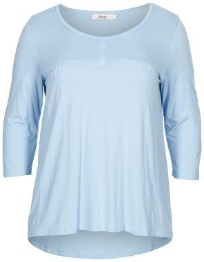 T-shirt, Blue Bell - Zizzi.dk