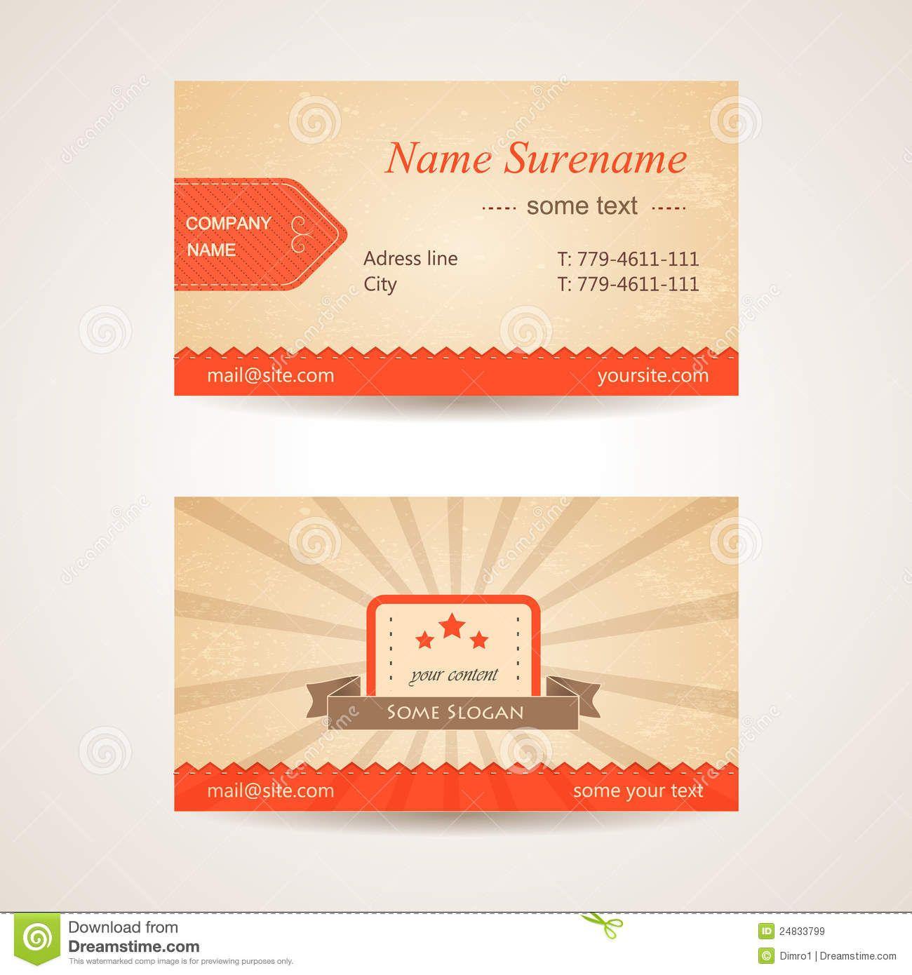 Indesign Visitenkarte Vorder Und Rückseite Zusammen Mit