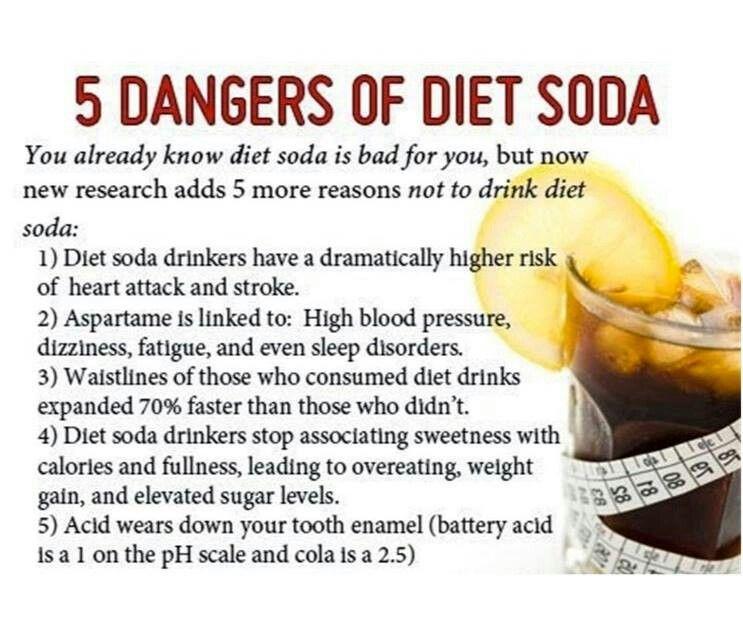 Dangers of drinking Pop