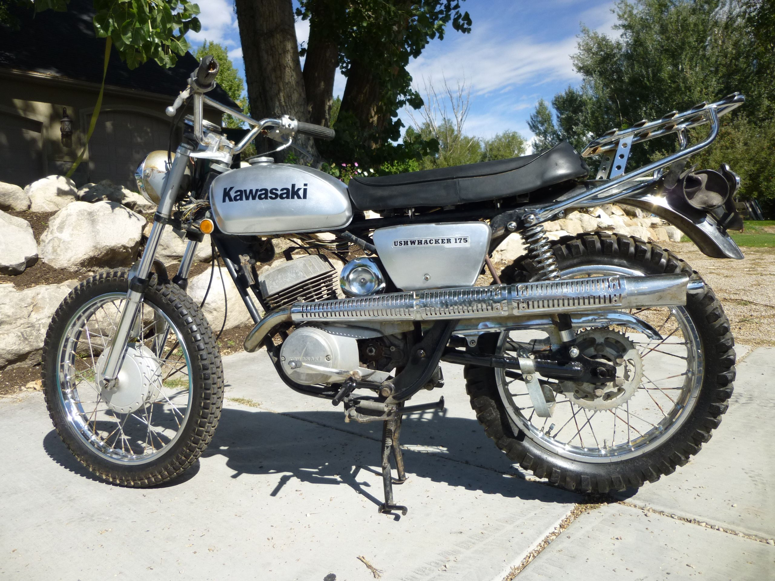 69 Kawasaki Bushwacker 175 | vintage bikes | Kawasaki