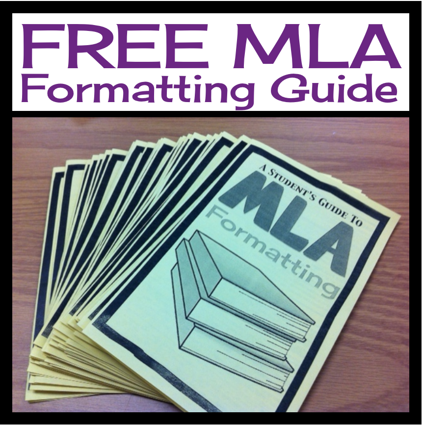 Free Mla Formatting Guide For Students By Presto Plans