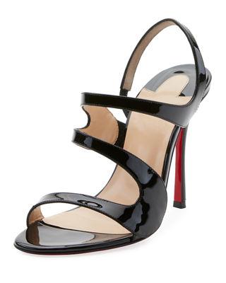 4ed760ebbb98 Shop All Women s Designer Shoes at Neiman Marcus. Christian Louboutin  Vavazou Asymmetric Red Sole Sandal