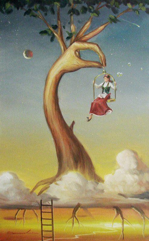 Glen Tarnowski Art Paintings Prints And Sculptures For Sale Surreal Art Art Painting