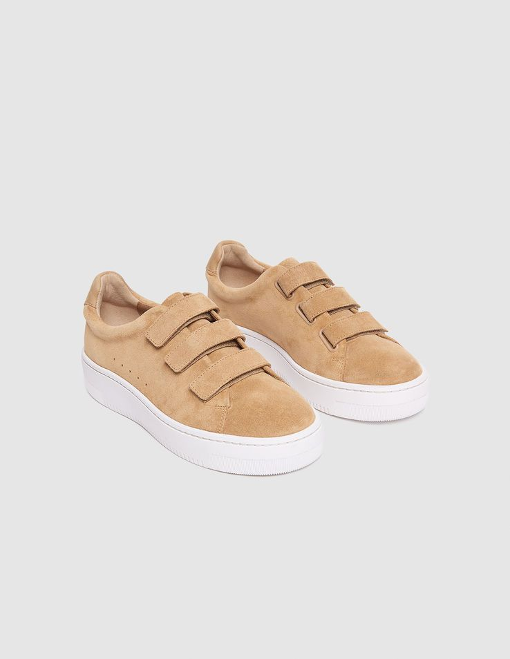 6d98b06c071e Leather Velcro Sneakers