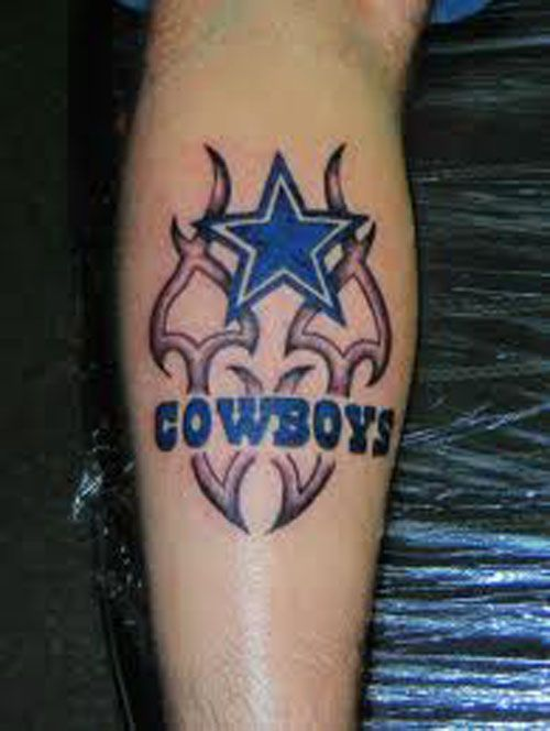 staggering dallas cowboys tattoos for real fans pure bodyart tattoo pinterest. Black Bedroom Furniture Sets. Home Design Ideas