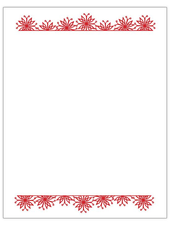 Free Christmas Letter Templates  Christmas Letters Letter