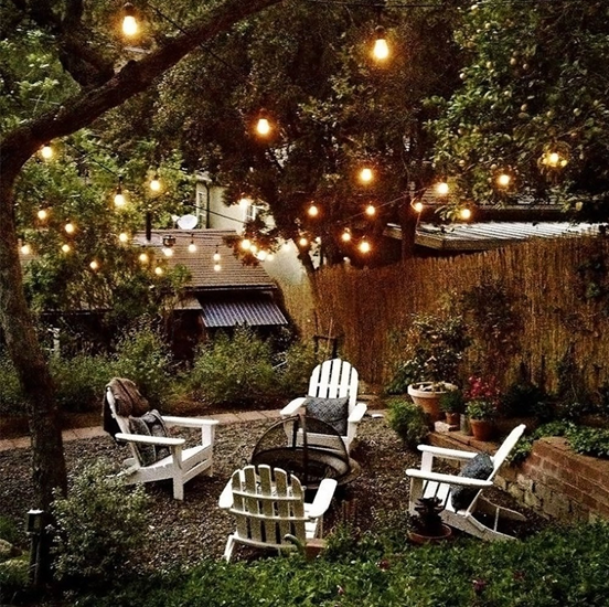 How To Hang String Lights In Backyard Without Trees Endearing Pintorchstar Usa On Led Outdoor Lighting  Pinterest  Outdoor Inspiration Design