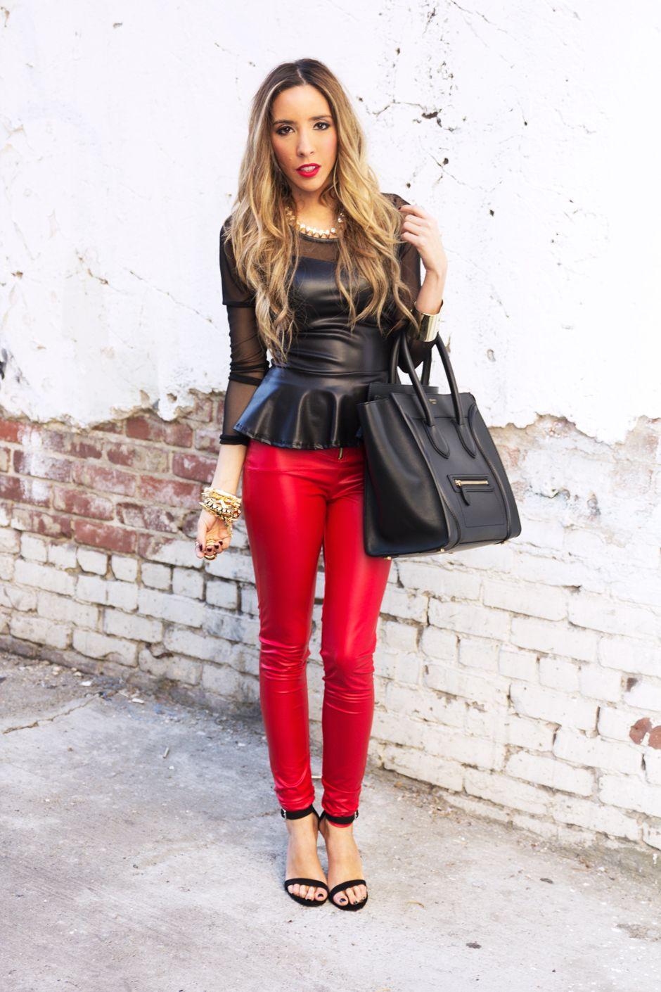 59ad07fd3e1 Shop Haute   Rebellious. Find this Pin and more on Street Style by Maria De  La Cruz ...