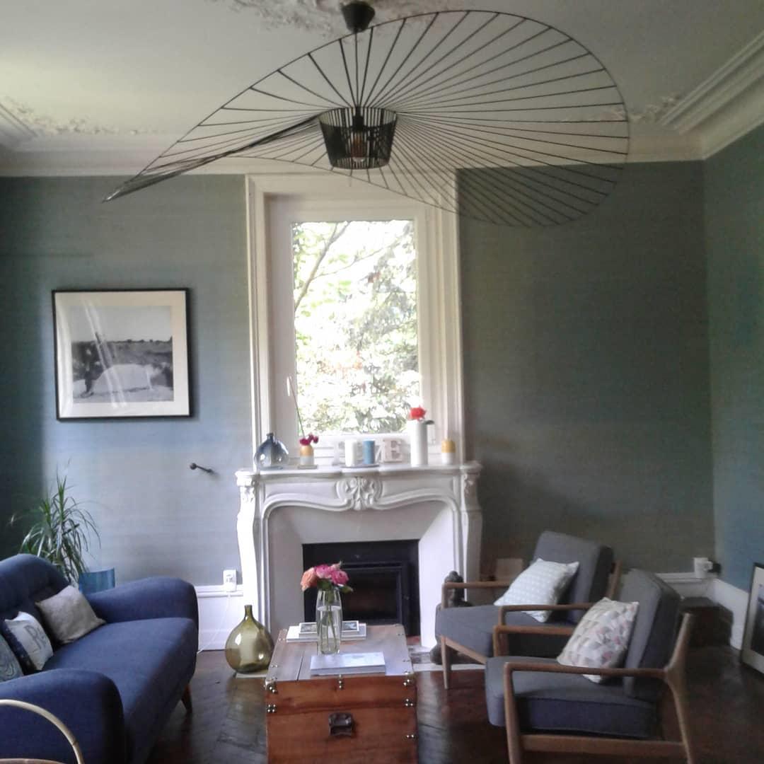 Pendant Light White Lamp Shade Blue Lamp Shade Pendant Lamp