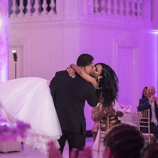 The perfect first dance of @camille_woods and her groom! : @mark_zunino  @hayes.photography  #legallyWoods