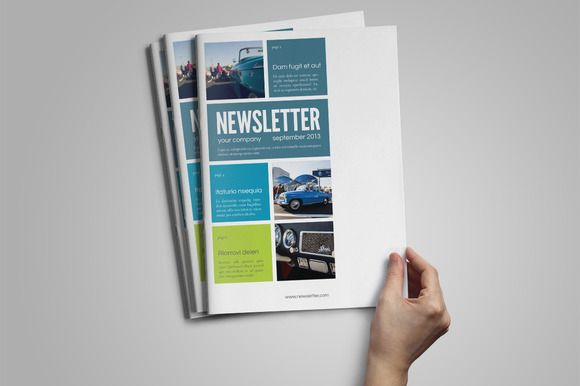 Check Out Indesign Newsletter Template By Jan Stblo On Creative