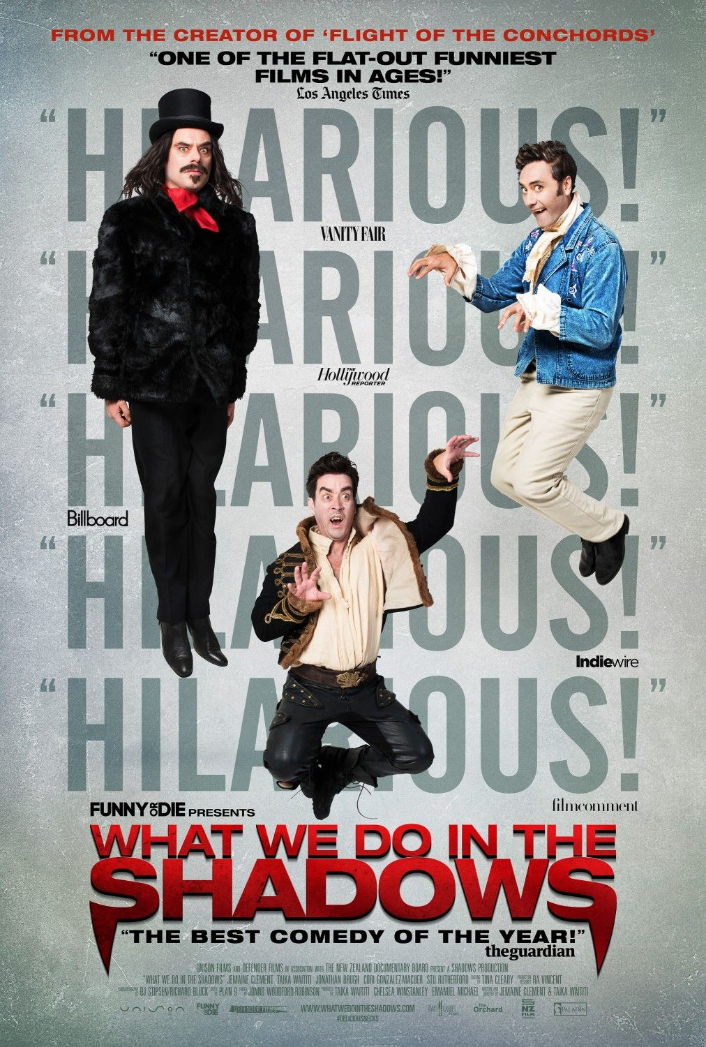 What We Do in the Shadows (2014) A Horror Mockumentary
