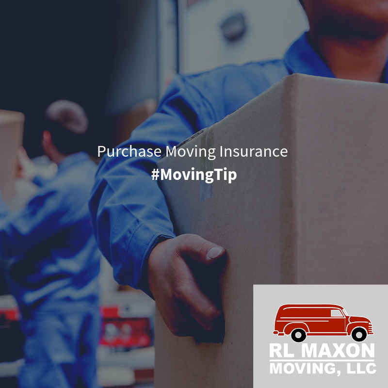 Purchase Moving Insurance Moving companies usually offer a