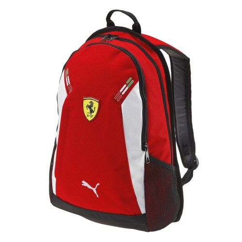 Scuderia Ferrari Replica Backpack #ferrari #ferraristore #puma #backpack #zaino #red #rosso #rossoferrari #ferrarired #prancinghorse #cavallinorampante #accessories #accessori
