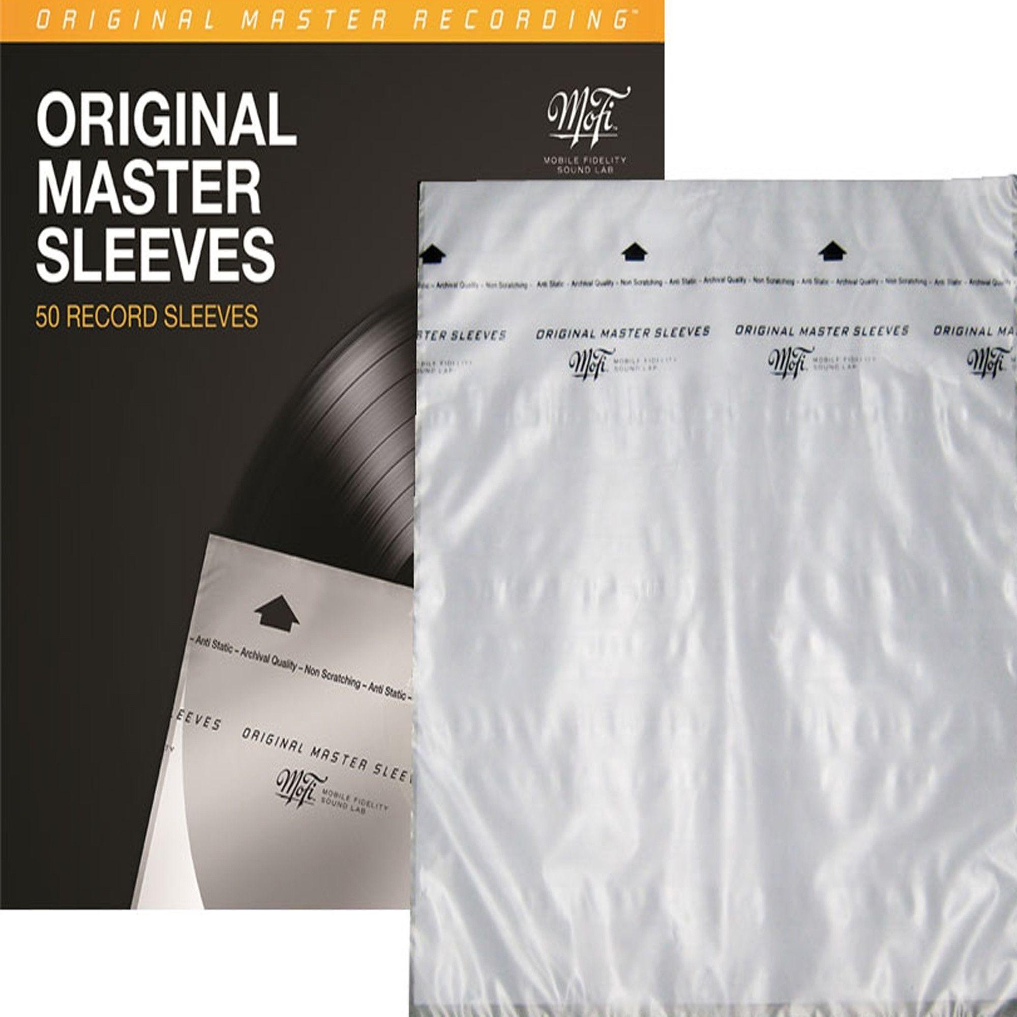 Mobile Fidelity Mfsl Mofi Original Master Record Inner Sleeves 50 Per Pack The Originals Vinyl Records Sleeves
