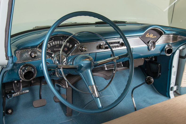 1955 Chevrolet Bel Air 5727 Salpicadero Automoviles