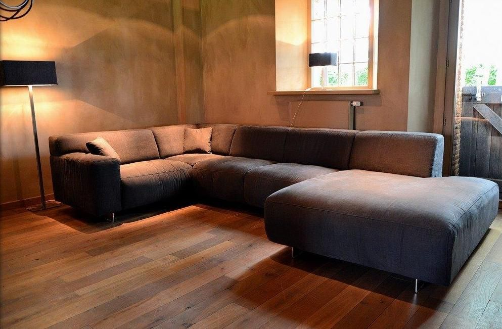 Stoffen Hoekbank Aanbieding.Diepe Lounge Bank En Hoekbank Moundial In De Aanbieding En Mogelijk