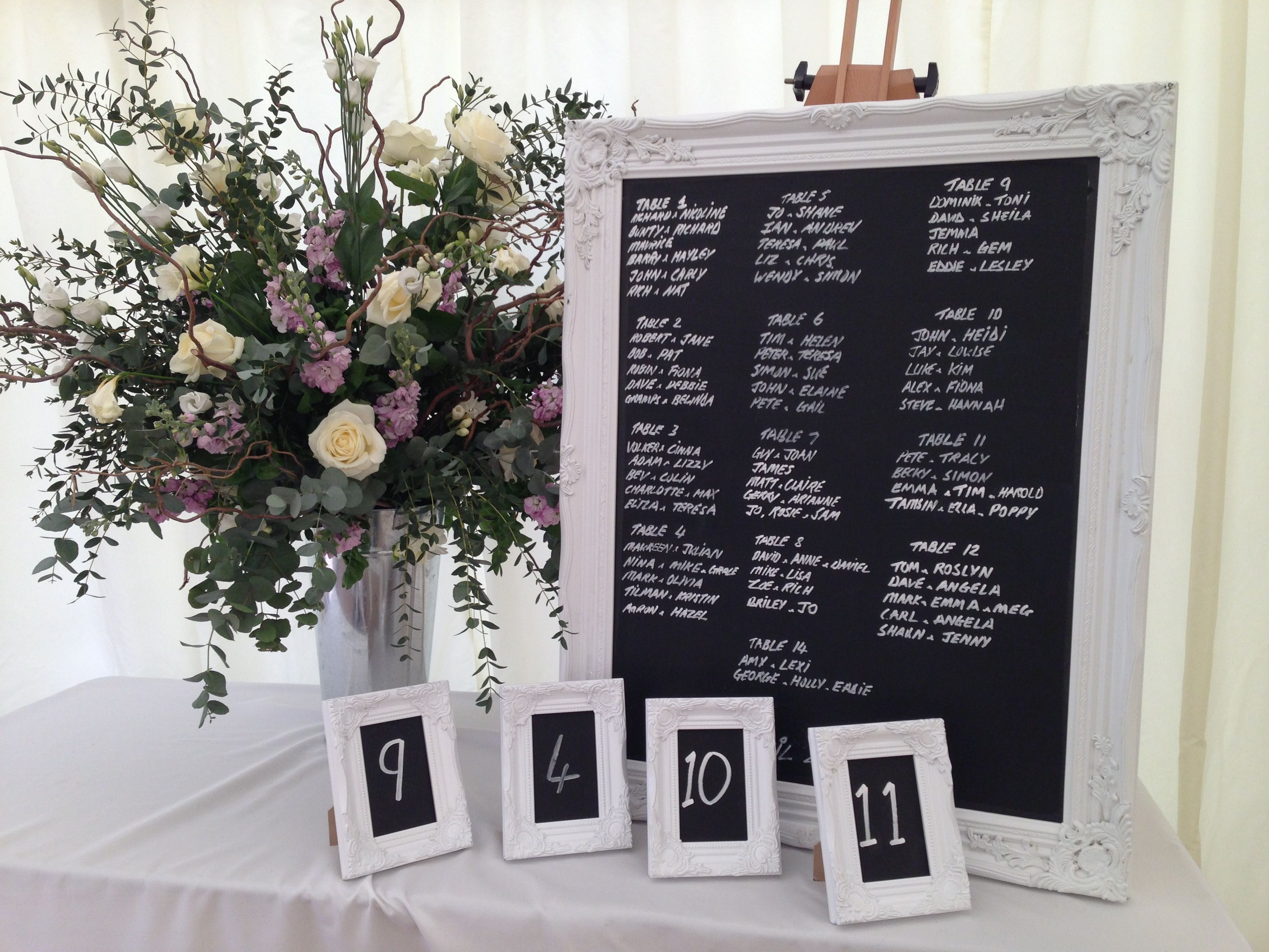 Httpss media cache ak0pinimgoriginals44616b inspire hire table plan and matching blackboard table numbers junglespirit Choice Image