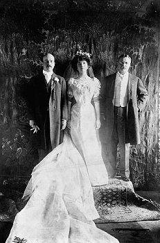 Alice Roosevelt 1906 Wedding Groom Nicholas Longworth And Father