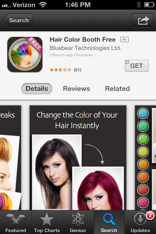Want to see what you look like with different hair colors? Then you ...