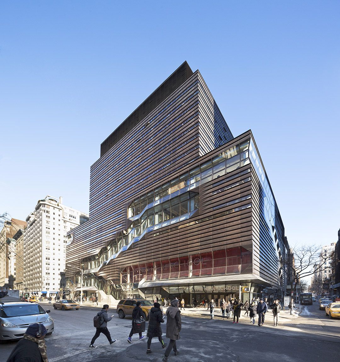 University Center, The New School, New York, NY / SOM - 谷德设计网