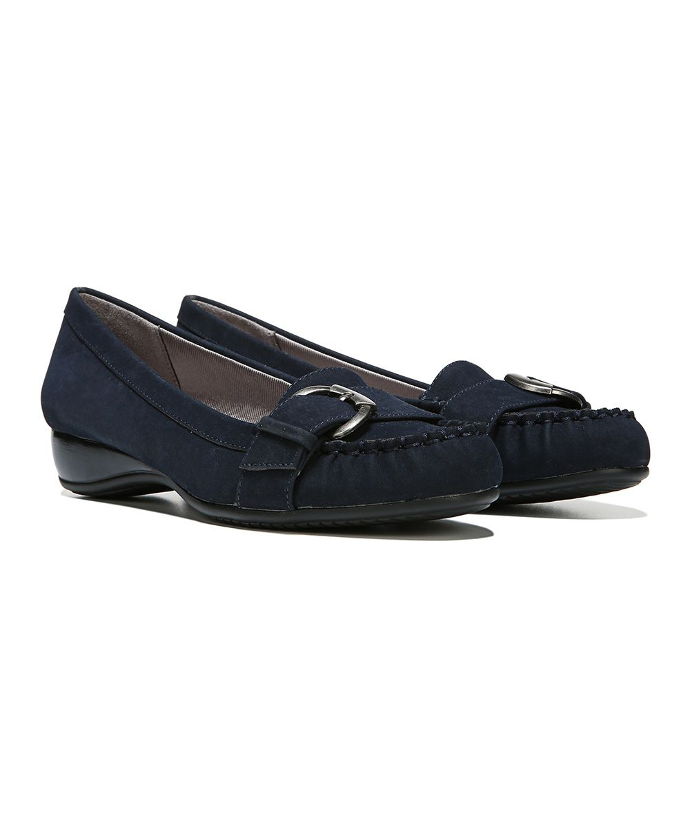Navy Dial-Up Loafer