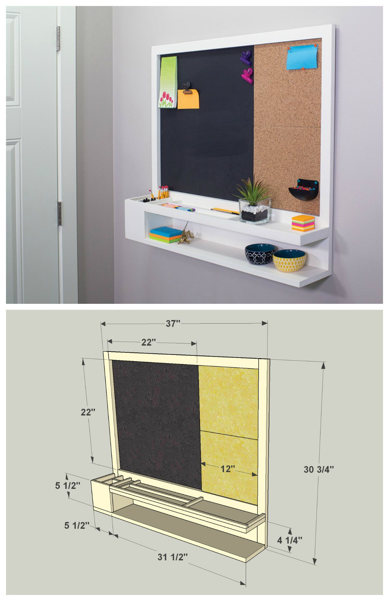 Message Center -   16 diy Organizador dormitorio ideas