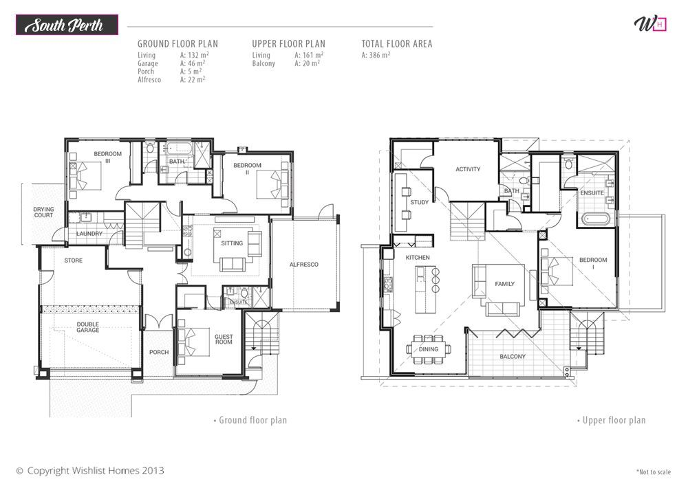 Beautiful South Perth Floor Plans