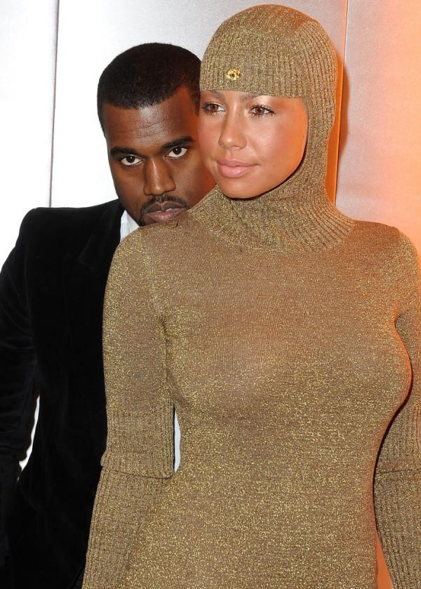 12 Pictures For Amber Rose and Kanye West Together Morably