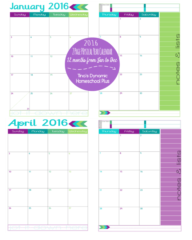 Step  Choose CalendarAppointment Keepers Build Your Homeschool